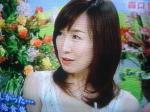 涙、ぽろぽろ、でも笑顔の森口博子さん